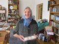 прихожанка Катя 92 года, в библиотеке храма