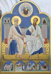 Петр и Павел.  Икона