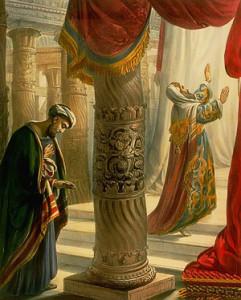 мытарь и фарисей . картинка